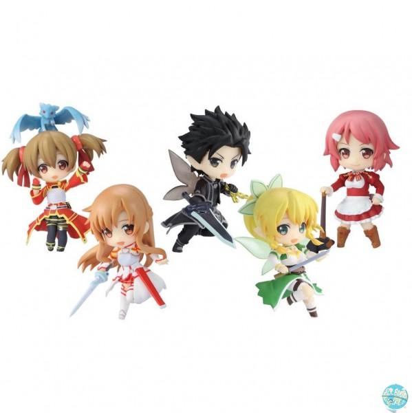 Sword Art Online - Minifiguren 6er-Set: Chara-Ani