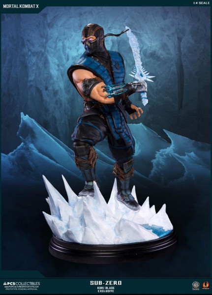 Mortal Kombat X - Sub-Zero Statue / Kori Blade Exclusive: Pop Culture Shock