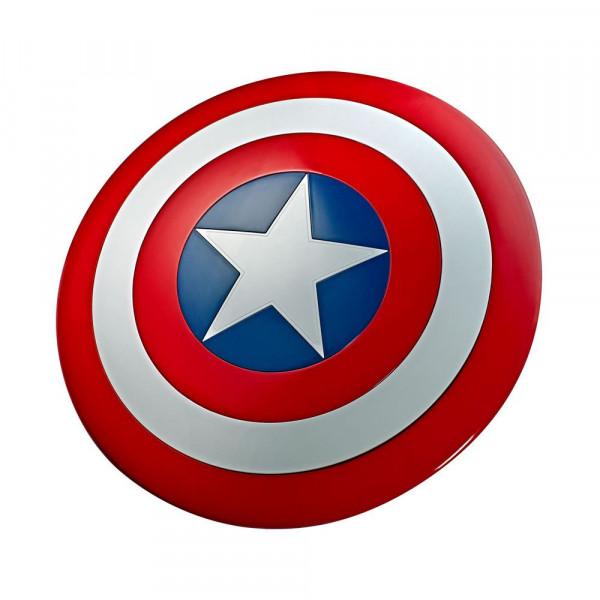 Marvel Legends - Captain America Schild / Premium Rollenspiel-Schild - 80th Anniv.: Hasbro