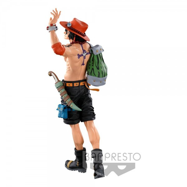 One Piece - Portgas D. Ace Statue / BWFC 3 Super Master Stars Piece - The Original: Banpresto