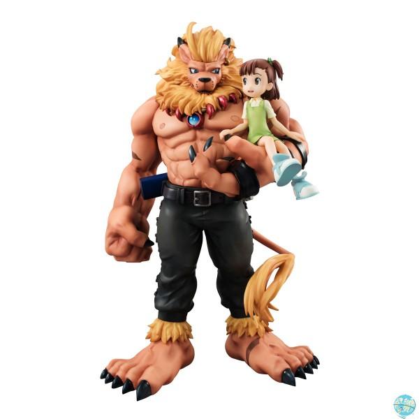 Digimon Tamers - Leomon & Kato Jyuri Statue - G.E.M. Serie: MegaHouse