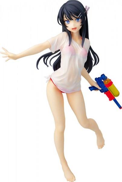 Rascal Does Not Dream of Bunny Girl Senpai - Mai Sakurajima Statue / Water Gun Date Version: Chara-A