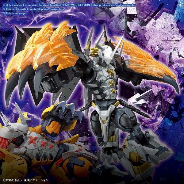 Digimon - Black Wargreymon Model-Kit / Figure-rise Standard Amplified: Bandai Spirits