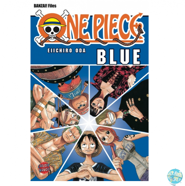One Piece Blue Deep - Characters World (Taschenbuch): Carlson Comics