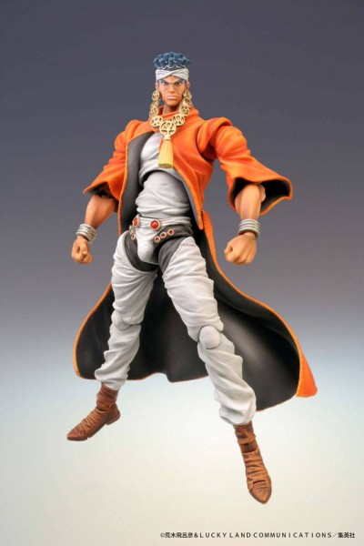 Jojo's Bizarre Adventure - Mohammed Avdol Actionfigur: Medicos Entertainment