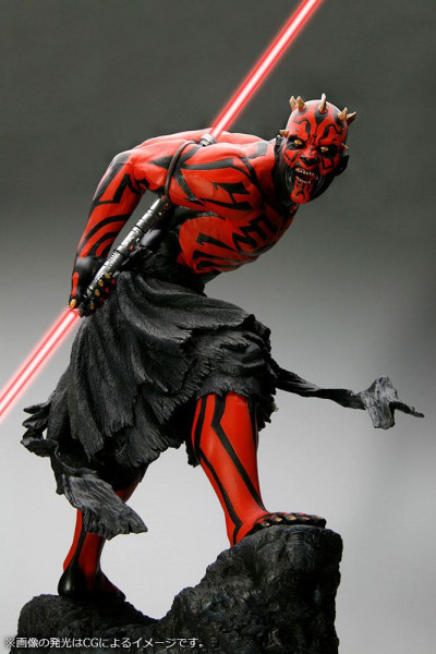 Star Wars - Darth Maul Statue / ARTFX - apanese Ukiyo-E Style Light-Up Edition: Kotobukiya