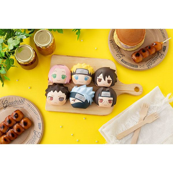 Naruto Shippuden - Anti-Stress-Figuren 6er-Set / Fluffy Squeeze Bread: MegaHouse