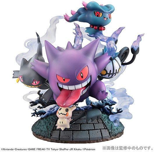 Pokemon - Große Ansammlung von Geistern Statue / G.E.M Series: MegaHouse