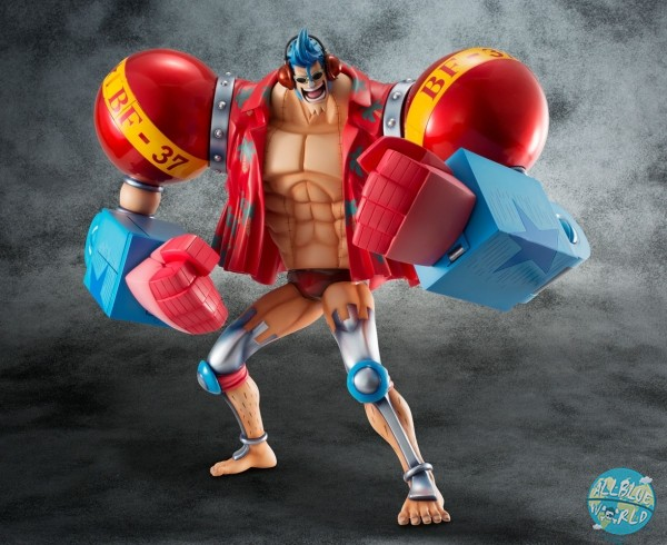 One Piece - Franky Statue - Excellent Model - Sailing Again Maximum / Limited Edition: MegaHouse
