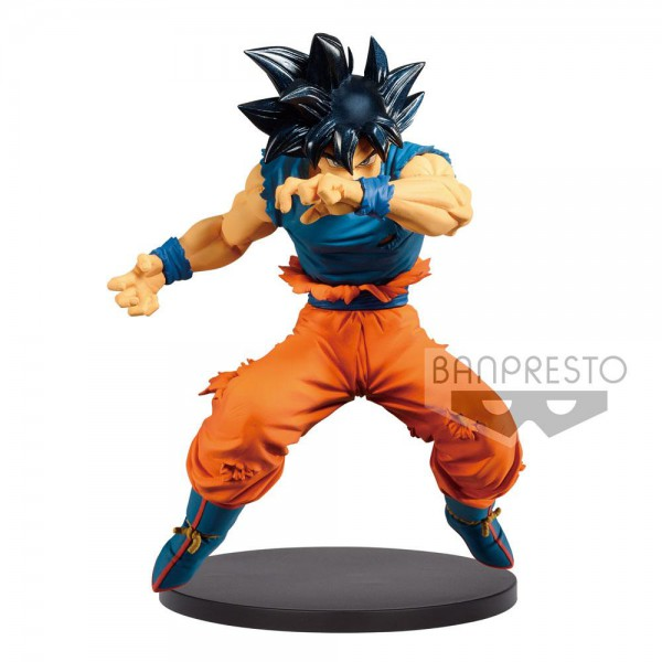 Dragon Ball - Son Goku Figur / Blood of Saiyans - Ultra Instinct Sign: Banpresto