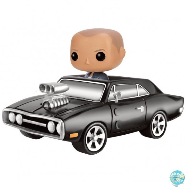 Fast & Furious - Dodge Charger & Dom Figur - POP: Funko