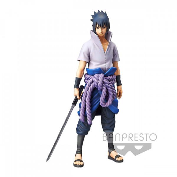 Naruto Shippuuden - Sasuke Uchiha Figur / Grandista nero: Banpresto