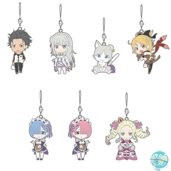 Re:Zero Starting Life in Another World - Rubber Strap 7er-Set - Nendoroid Design: Good Smile Company