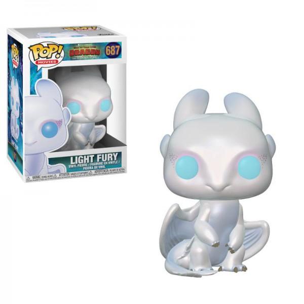 Drachenzähmen leicht gemacht 3 - Light Fury Figur / POP!: Funko