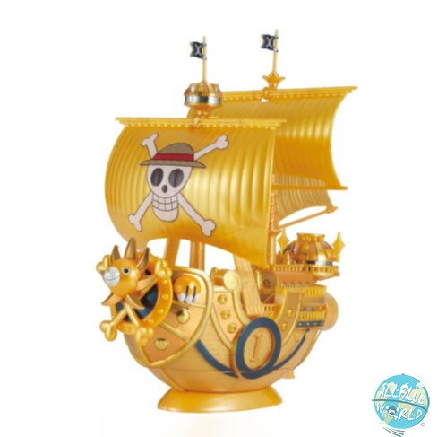 One Piece Gold - Thousand Sunny Modell-Kit - Commemorative Color / Grand Ship Collection: Bandai