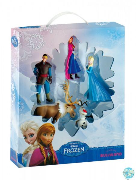 Die Eiskönigin – Völlig unverfroren Bullyland Geschenkbox mit 5 Figuren Bumper Pack