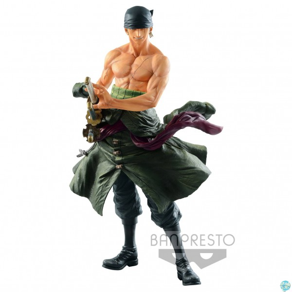One Piece - Lorenor Zorro Figur - Big Size: Banpresto
