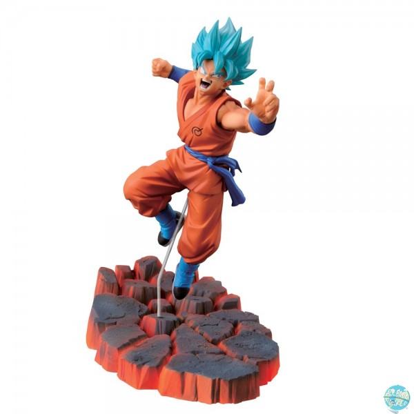 Dragonball Z Rebirth of F - SSG Son Goku Figur - Scultures / Big Budokai: Banpresto