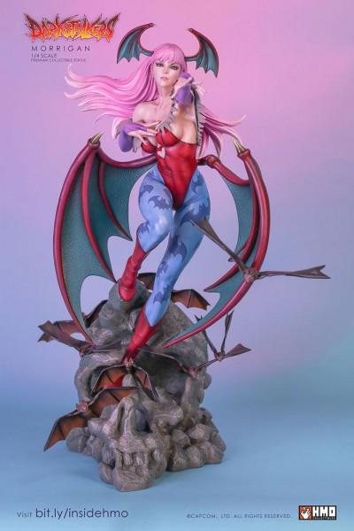 Darkstalkers - Morrigan Statue / Player 02 Edition: H.M.O. Collectibles
