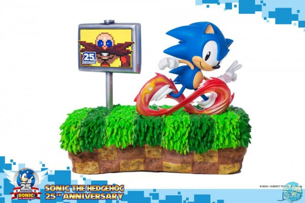 Sonic the Hedgehog Diorama / 25th Anniversary Version: First 4 Figures