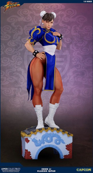 Street Fighter - Chun Li Statue / Classic Qipao Exclusive: Pop Culture Shock