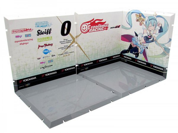 Dioramension 150 - Zubehör-Set / Racing Miku 2018 Pit A: PLM