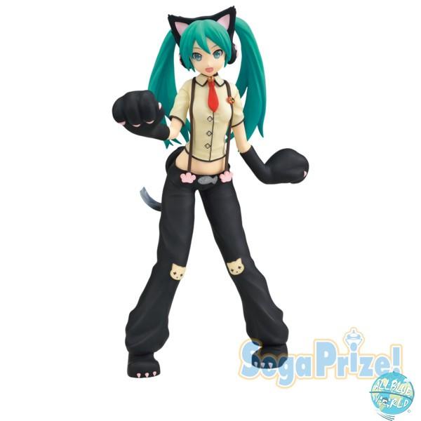 Vocaloid - Hatsune Miku Figur - Projekt Diva Arcade / Cat Costume Version: Sega