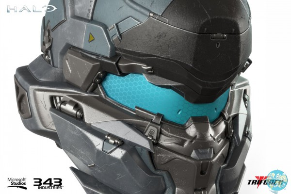 Halo 5 - Spartan Jameson Locke Helm Replika: Triforce