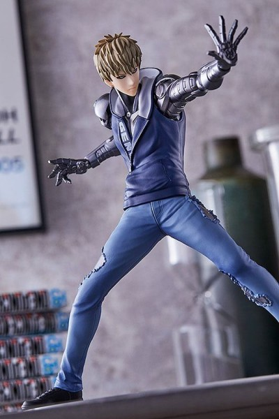 One Punch Man - Genos Statue / Pop Up Parade: Good Smile Company