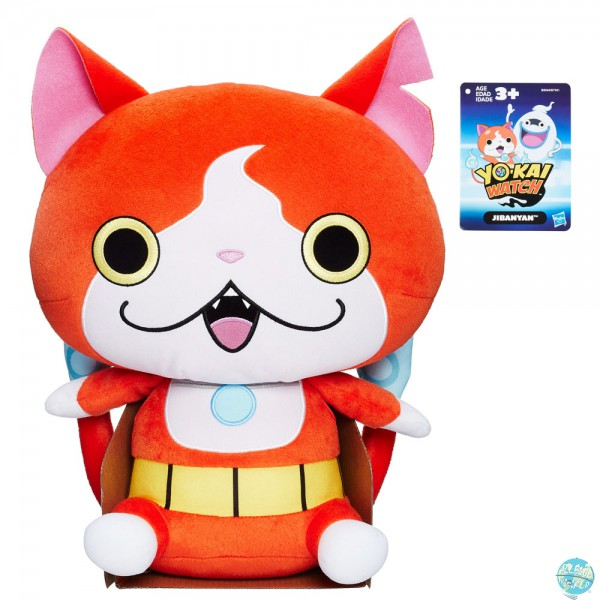 Yo-Kai Watch - Jibanyan Plüschfigur: Hasbro
