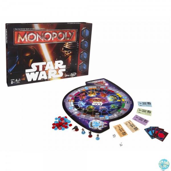 Star Wars Monopoly Brettspiel *deutsche Version*: Hasbro