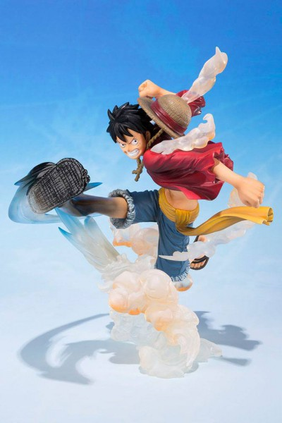 One Piece - Ruffy Figur - FiguartsZERO / Gum Gum Hawk Whip Ver.: Bandai