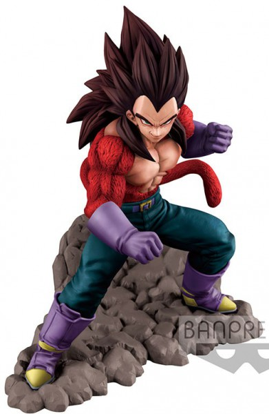 Dragon Ball GT - SSJ4 Vegeta Figur: Banpresto
