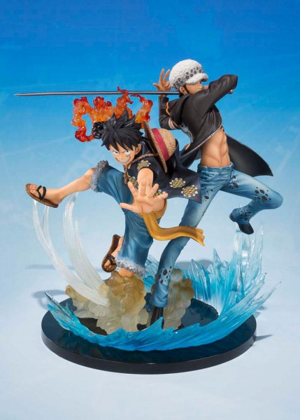 One Piece - Ruffy & Law Statue - FiguartsZERO / 5th Anniversary Edition: Bandai