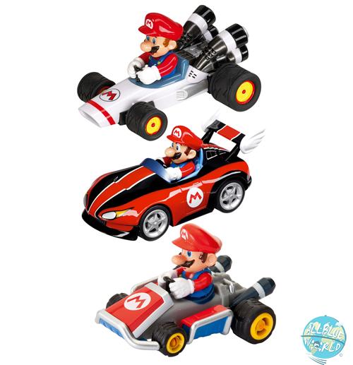Mario Kart Pull & Speed Rückzug-Fahrzeuge 3er-Pack