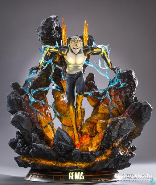 One Punch Man - Genos Statue - HQS: Tsume