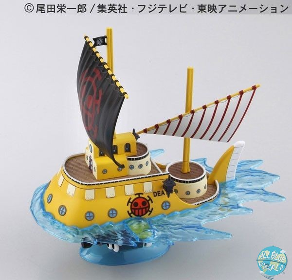 One Piece - Law's Submarine Modell-Kit - Grand Ship Collection: Bandai
