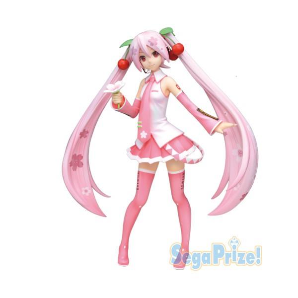 Vocaloid - Hatsune Miku Figur / Sakura Version: Sega