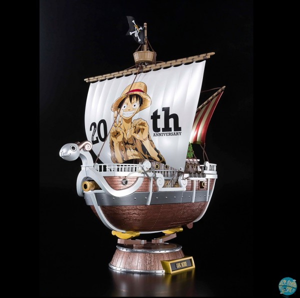 One Piece - Going Merry Statue - Premium Diecast / 20th Anniversary: Bandai