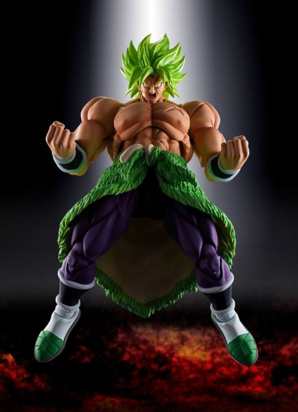 Dragon Ball - SSJ Broly Actionfigur / S.H.Figuarts - Fullpower Version: Tamashii Nations