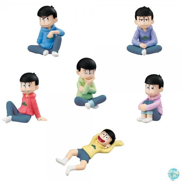 Osomatsu-san - Minifiguren-Set - Palmate / 6er-Set: MegaHouse