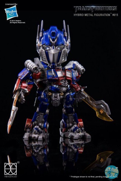 Transformers - Optimus Prime Actionfigur - HYBRID METALL AF: Herocross