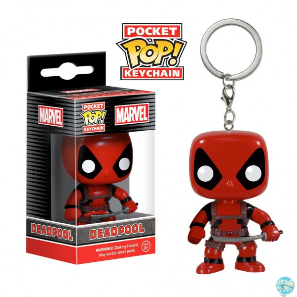 Marvel Comics Pocket POP! Vinyl Schlüsselanhänger Deadpool 4 cm