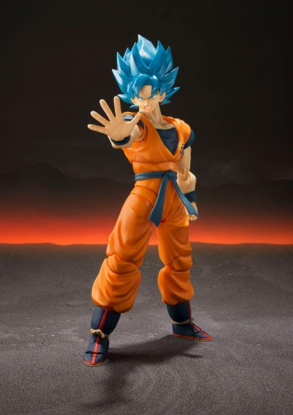 Dragonball Super Broly - SSGSS Son Goku Actionfigur / S.H. Figuarts: Tamashii Nations