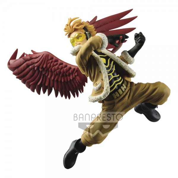 My Hero Academia - Hawks Figur / The Amazing Heroes: Banpresto