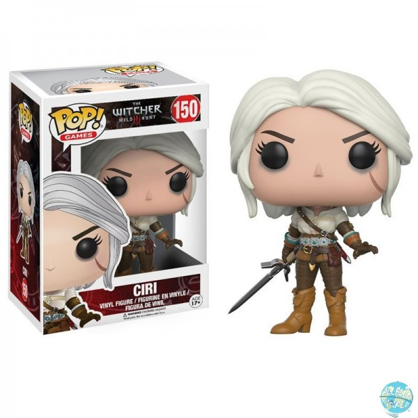 The Witcher - Ciri Figur - POP! Games: Funko