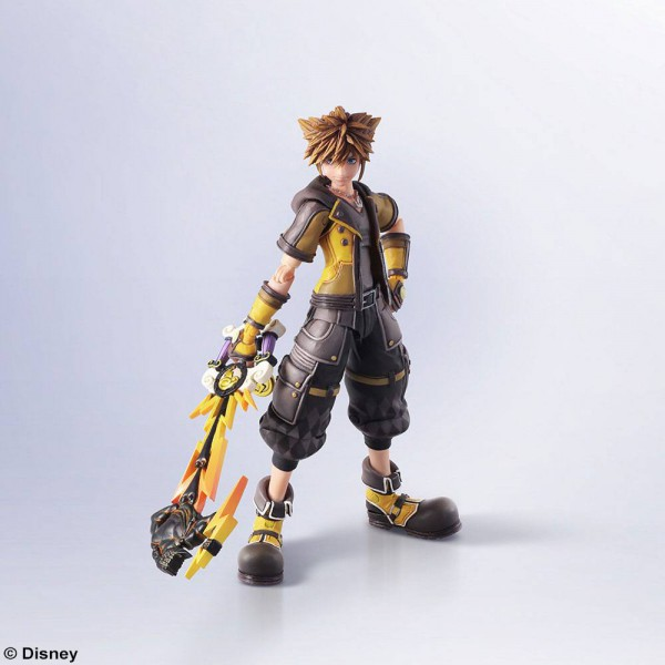 Kingdom Hearts III - Sora Actionfigur - Bring Arts: Square Enix