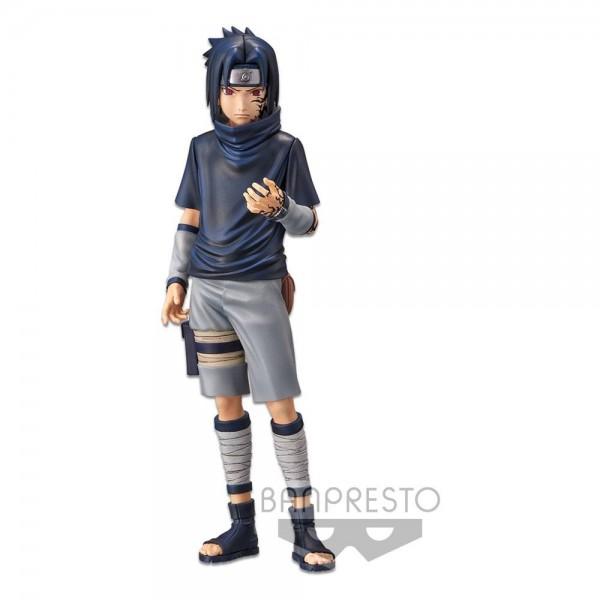 Naruto - Sasuke Uchiha Figur / Grandista nero Version 2: Banpresto