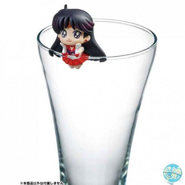 Sailor Moon - Sailor Mars Sammelfigur - Pretty Soldier Ochatomo Series / Moon Prism Cafe: MegaHouse
