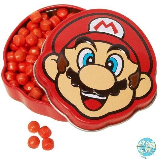 Nintendo - Super Mario Bros. Brick Breakin Candies / Tins: Boston America